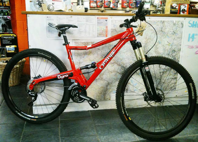 Blazing Saddles|2014 Mountain Bike sale|Specialized|Orange