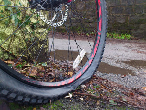 tyre-puncture