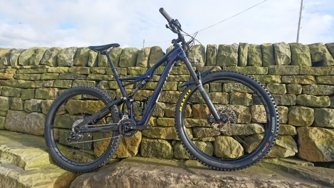 Specialized Stumpjumper FSR Comp Carbon 650B  Was £3000 EX DEMO £1949.99 Size Medium All Ex Demo Bikes are given a pre sale service< plus 3 further FREE £45 services - One at 6 weeks, one at 6 months and one after a year. (Excluding parts.) Read more here